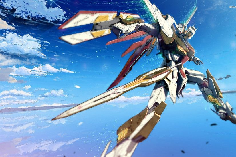 Image GN Gundam Exia Sky The Gundam Wiki | HD Wallpapers | Pinterest |  Gundam, Hd wallpaper and Wallpaper