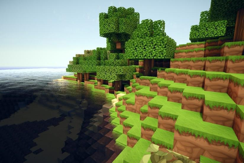 widescreen minecraft background 1920x1080 picture