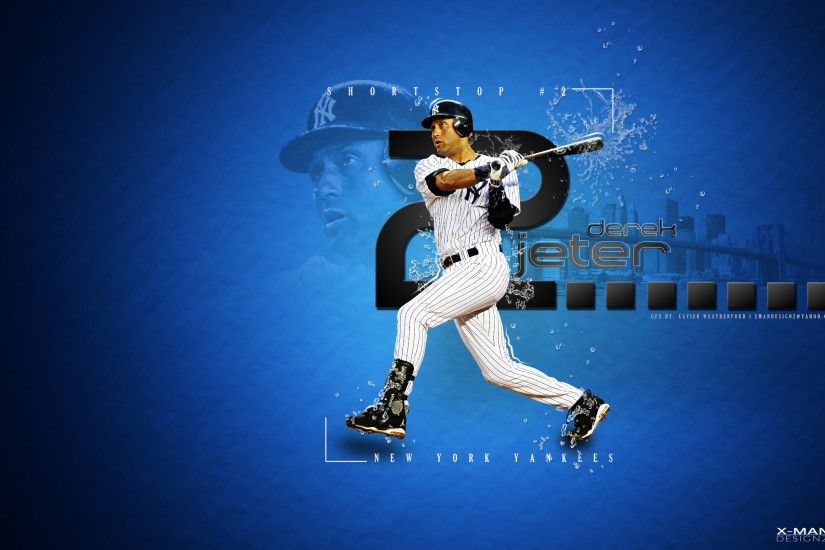 ... Derek Jeter Wallpaper for iPhone and iPad (Baseball) - iPhone2Lovely