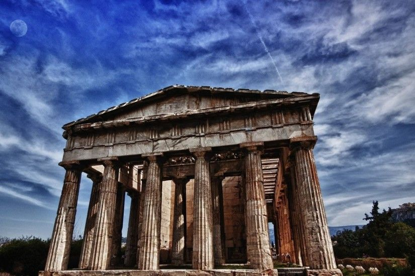 Preview wallpaper city, athens, parthenon, landmark, greece 1920x1080