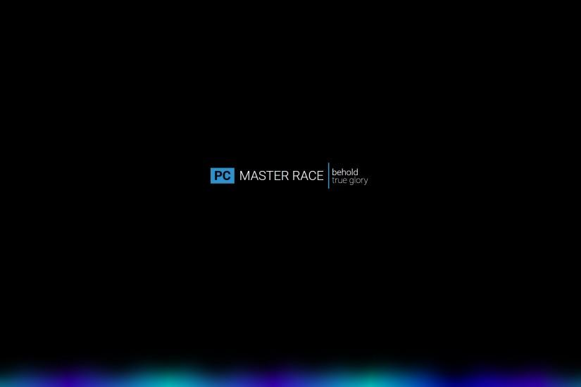 pc master race wallpaper 2560x1440 desktop