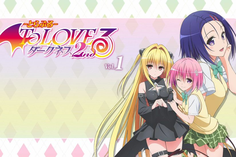 Anime - To Love-Ru: Darkness Haruna Sairenji Momo Velia Deviluke Golden  Darkness Wallpaper