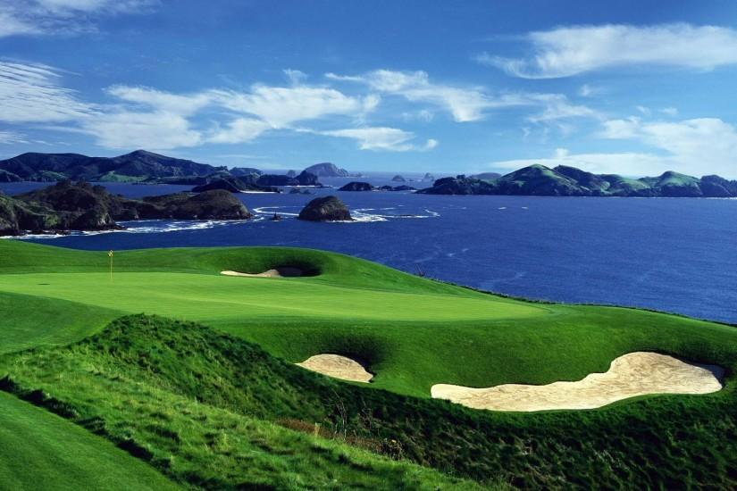 Kauri Cliffs Golf Course Top Wallpapers 1920x1200PX ~ Wallpaper .