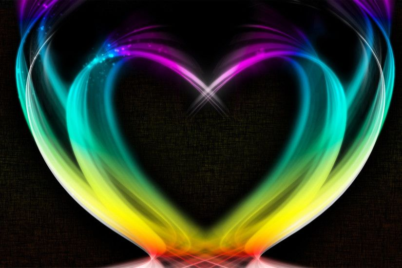 3D Heart Art Love Wallpaper Screensavers