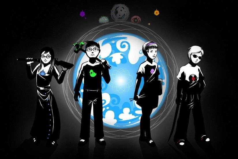 Desktop backgrounds · homestuck
