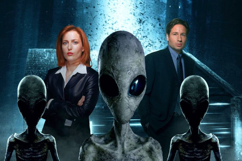 TV Show - The X-Files Fan Art Extraterrestrial David Duchovny Gillian  Anderson Dana Scully