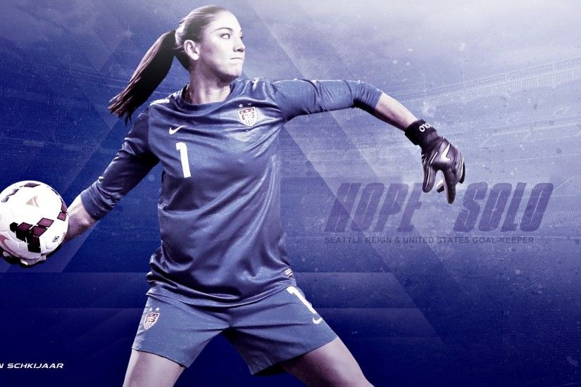 Hope Solo US National Team Wallpaper HD #1