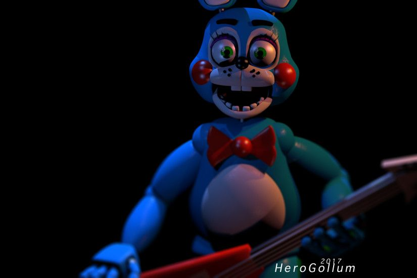 ... Toy Bonnie Wallpaper - Cinema 4D by HeroGollum