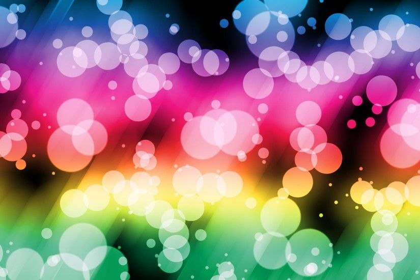 Rainbow Bubbles Background 324115