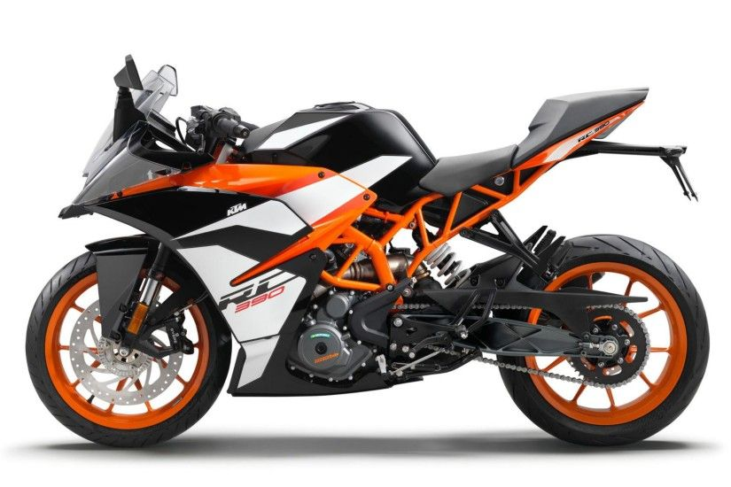 2017 KTM RC390 C HD Motorcycle Wallpaper