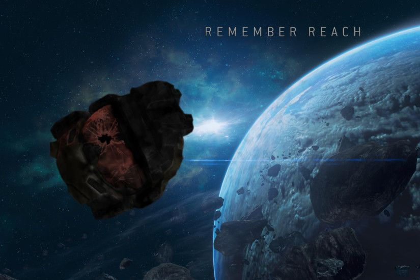 Free Download Halo Reach Background.