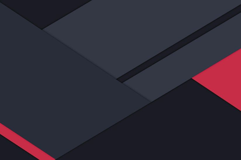 Material Design Wallpaper Red 034 by Charlie-Henson