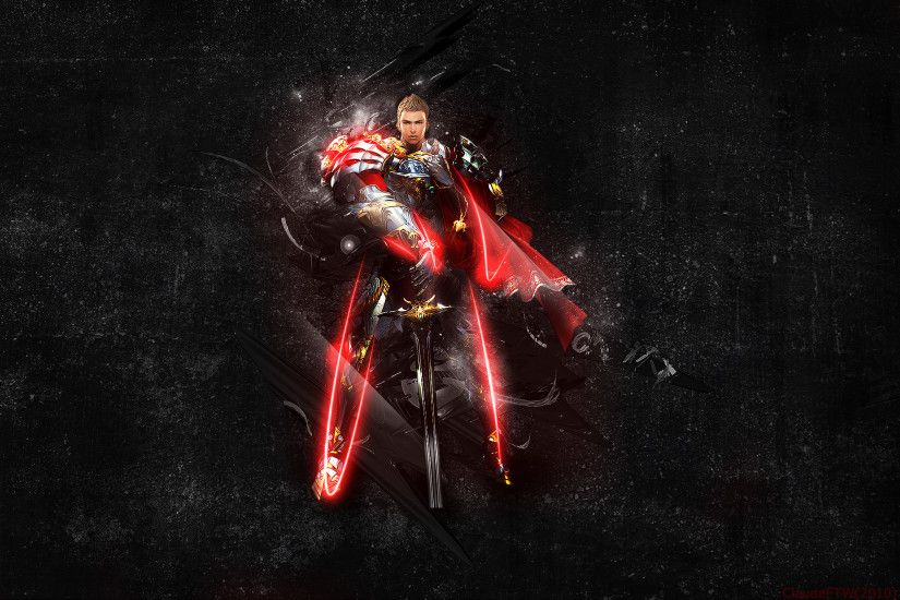 ... Lineage 2 Paladin reworked by clubbing-claude
