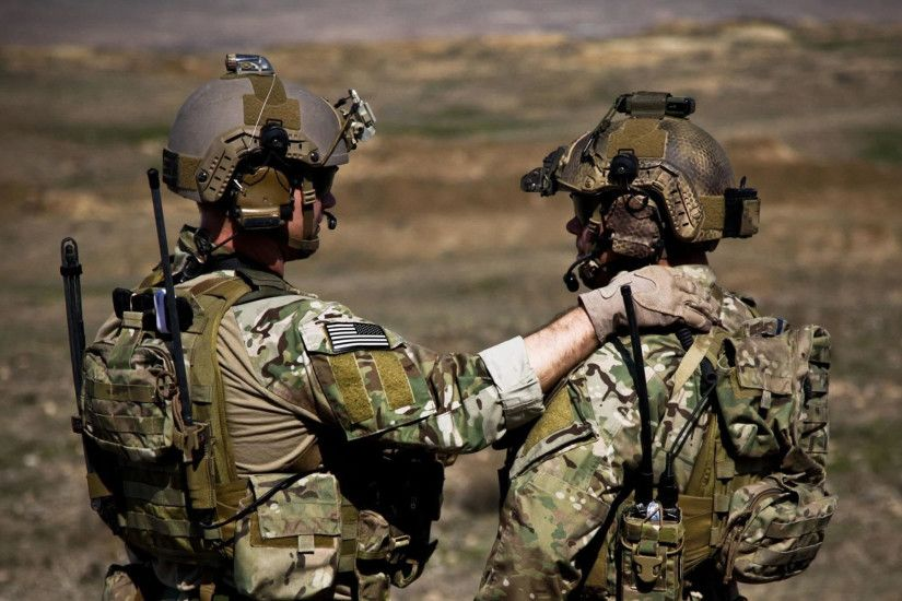 Army Ranger Buddies (2156) - Military Wallpapers