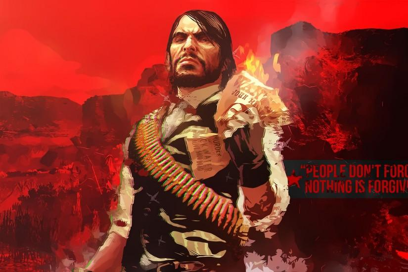 ... Wallpaper John Marston (Red Dead Redemption) by SaxTop