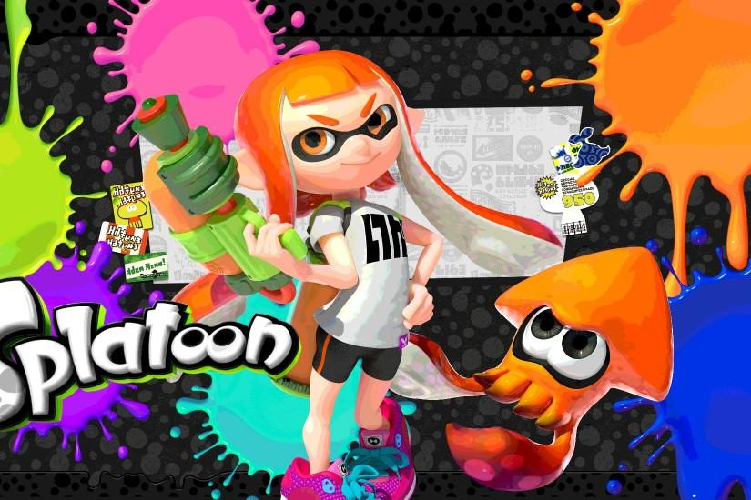 free download splatoon wallpaper 2000x1100 htc