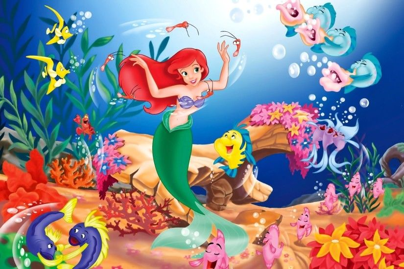 The Little Mermaid · HD Wallpaper | Background ID:244239
