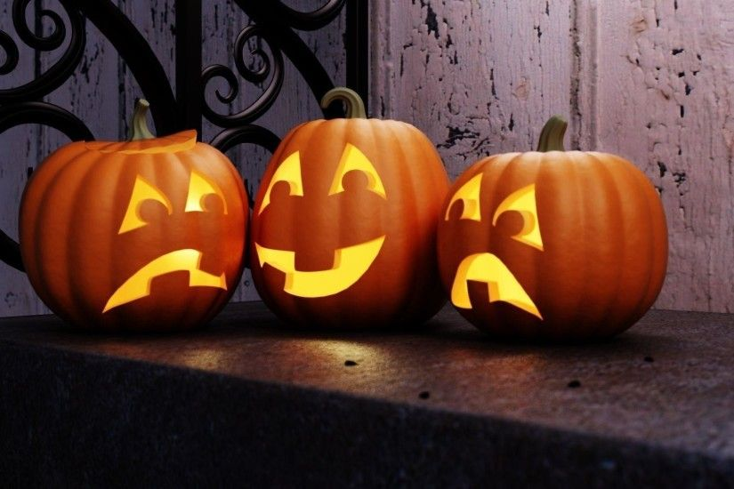 Jack O'Lantern Wallpapers Free - WallpaperSafari