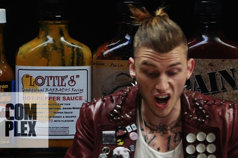 Machine Gun Kelly Talks Diddy, Hangovers & Amber Rose While Eating Spicy  Wings | Hot Ones