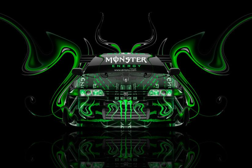 Monster-Energy-Nissan-Skyline-GTR-R32-JDM-Front-