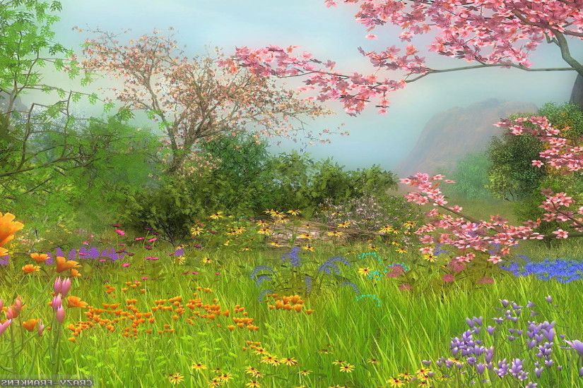 Spring Scenes HD Wallpaper