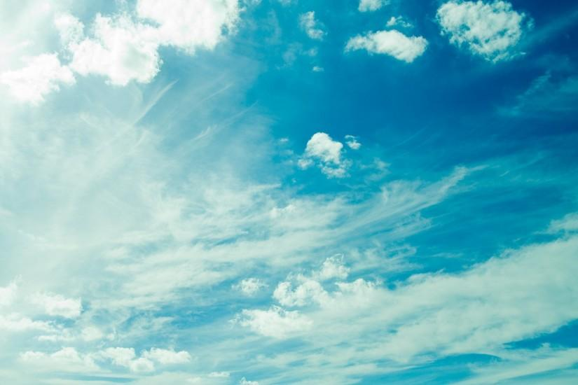 Simple Blue Sky Wallpapers For Desktop, Backgrounds, Free HD .