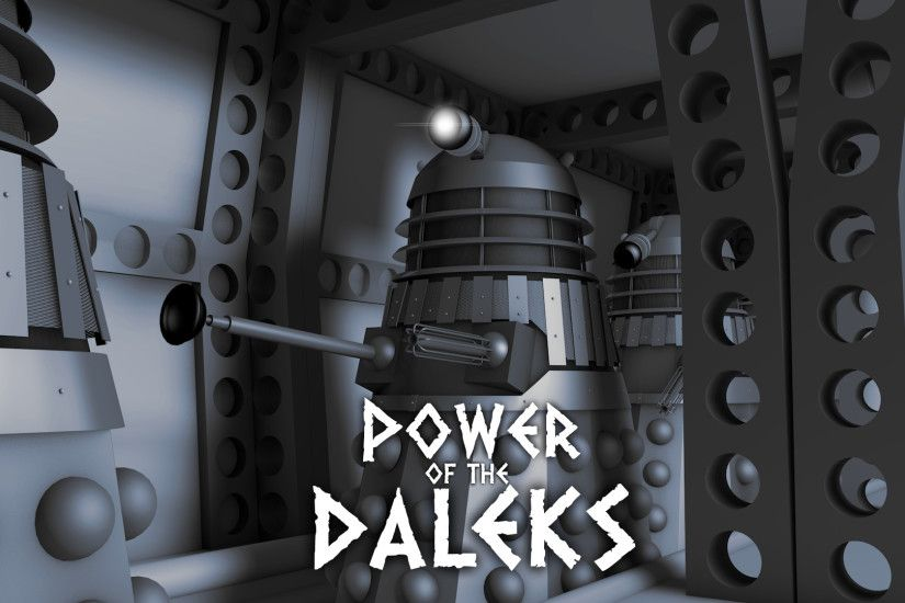 Power of the Daleks by DapperPenguin20320 Power of the Daleks by  DapperPenguin20320