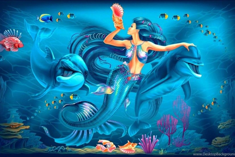 Lovely wallpaper widescreen underwater