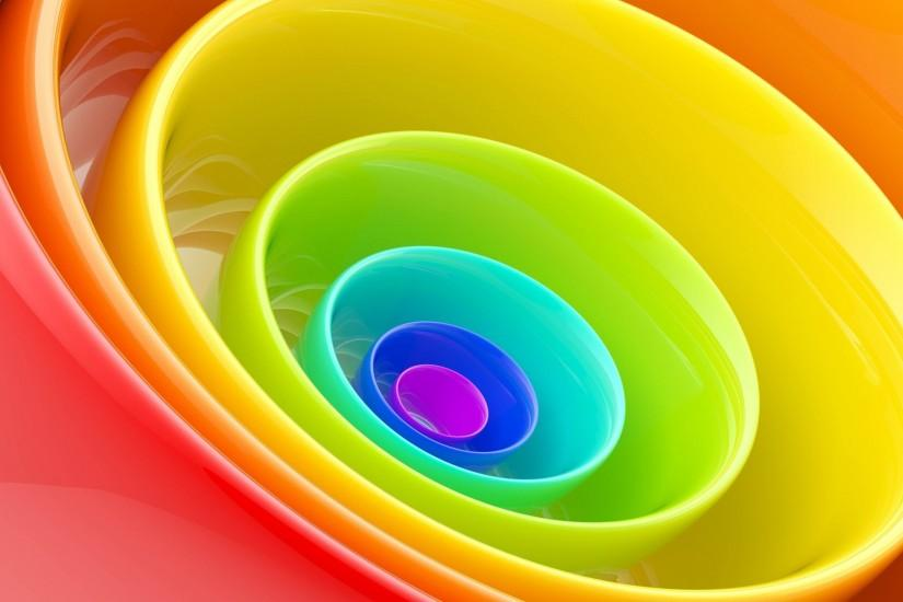 Rainbow Color Ring HD Wallpapers