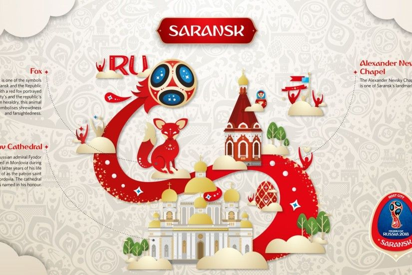 Official Look of Host Cities of World Cup 2018 in Russia - Saransk