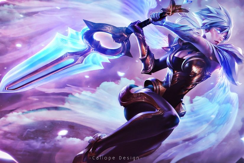Wallpaper Dawnbringer Riven by MissCaliope Wallpaper Dawnbringer Riven by  MissCaliope