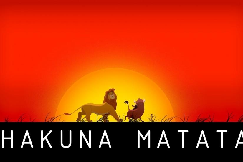 The Lion King Wallpaper Hakuna Matata Wallpaper Iphone with Wallpaper High  Resolution
