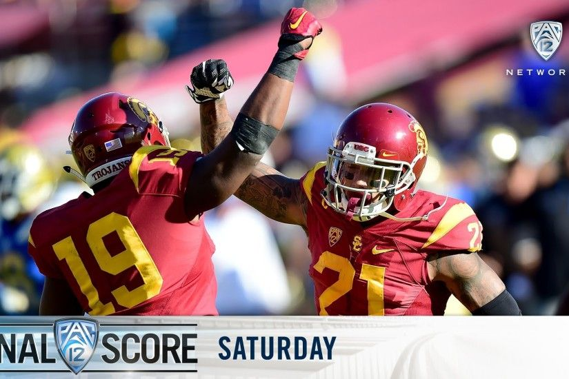 Highlights: USC football takes the South in Crosstown Showdown win over  UCLA - YouTube