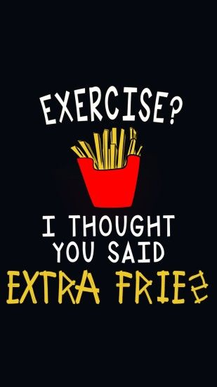 love for fries- @mobile9 | iPhone 6 funny wallpapers, backgrounds, quotes &