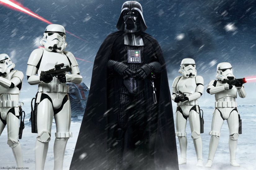 Movie Star Wars Hot Toys Fan Art Stormtrooper Darth Vader Wallpaper