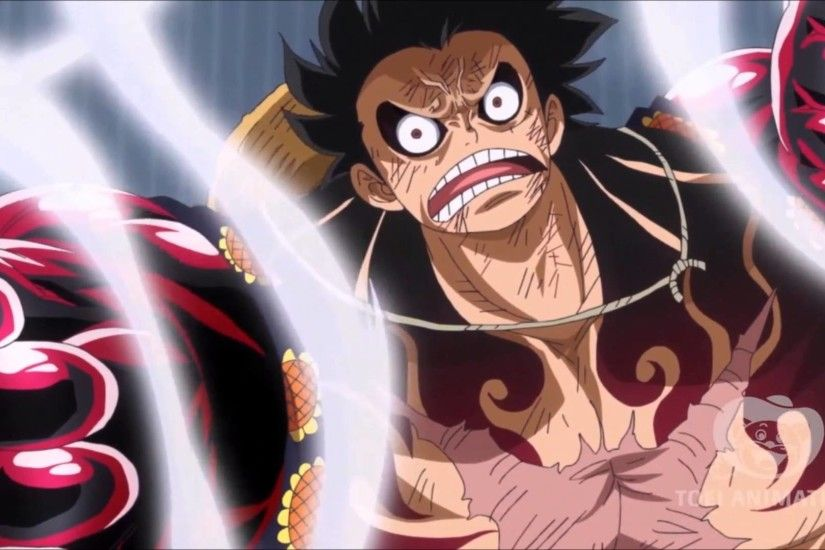 Luffy Vs Doflamingo Gear 4 Fourth Boundman Kong One