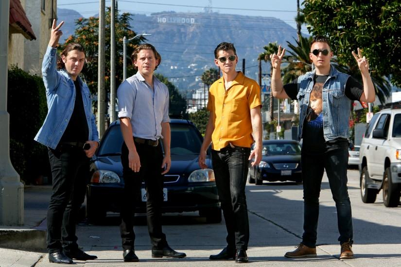 Arctic Monkeys In Hollywood