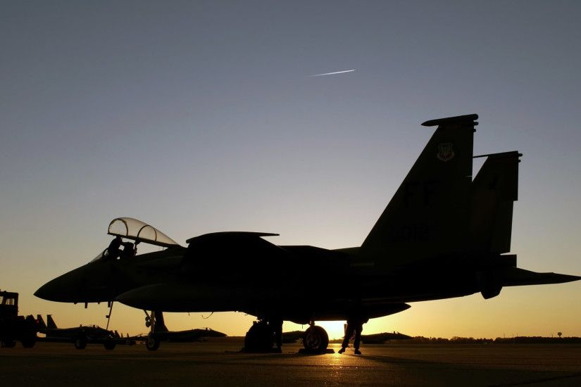 F 15 Eagle at Air Force Base