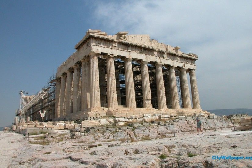 Acropolis And The Parthenon wallpaper