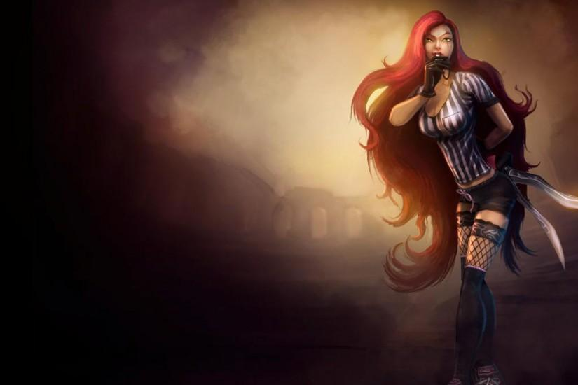 League of Legends Wallpaper Katarina