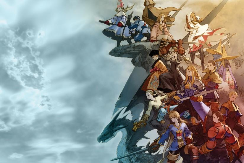 widescreen final fantasy wallpaper 1920x1200 download free
