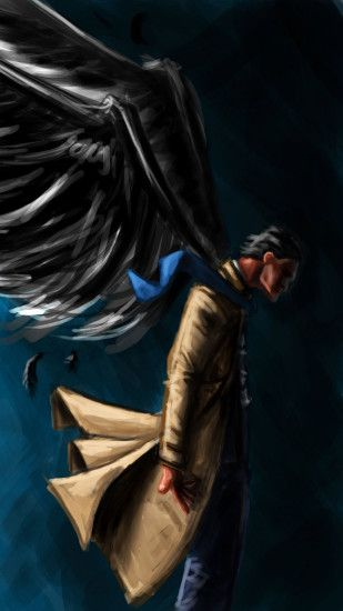 Castiel artwork - Supernatural Wallpaper