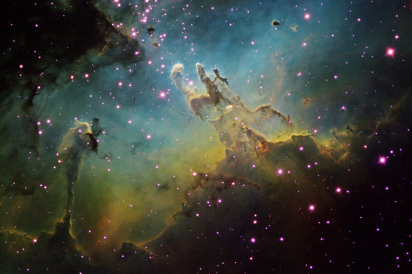 2022x1467 Pillars Of Creation High Resolution M16 by ken crawford with a