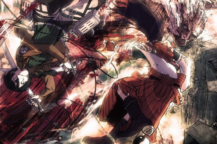 Attack On Titan Background HD.