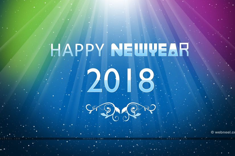 2018 new year wallpaper new year wallpaper