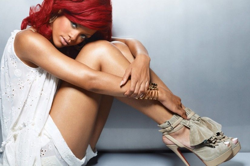 Rihanna Wallpaper Red Hair HD Wallpaper Pictures | Top Wallpaper Photo