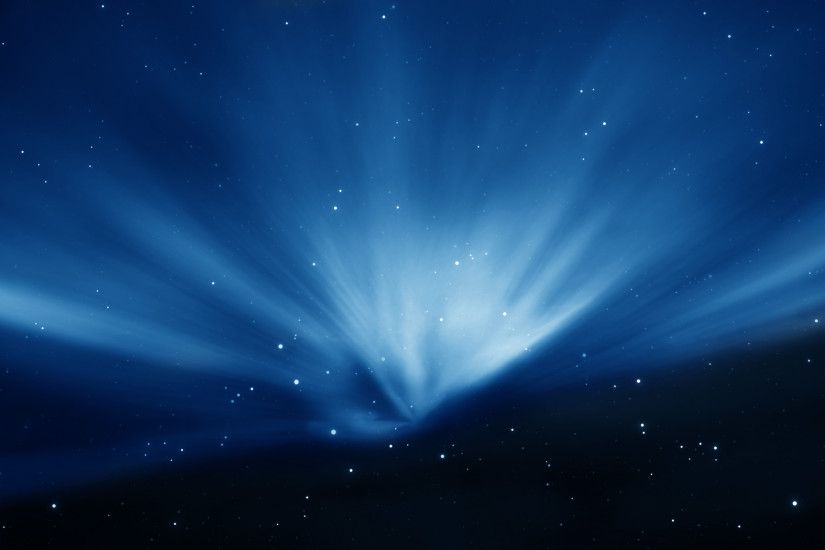 Apple Sky Blue Aurora WallPaper HD - http://imashon.com/brands