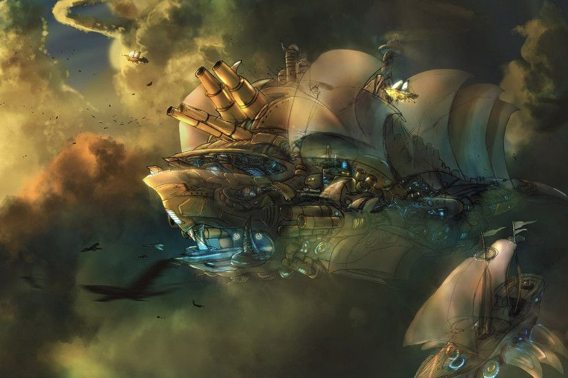 HD Steampunk Wallpapers – Background download free – download for free