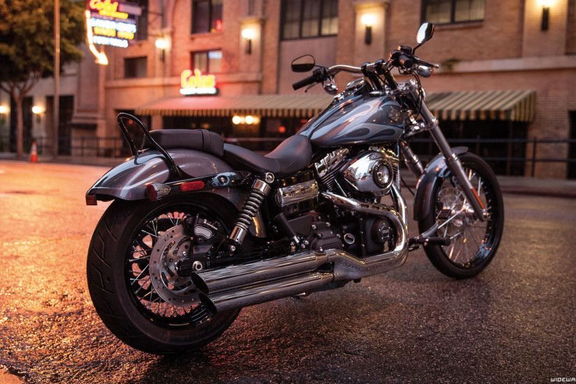 Harley-Davidson Dyna Wide Glide motorcycle wallpapers ...