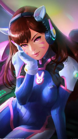 Download Dva wallpapers to your cell phone - dva overwatch .